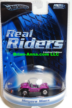Hot Wheels Real Rider Series Limited Edition, Myers Manx in Purple