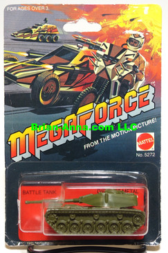 Hot Wheels Megaforce Series Battle Tank, Mint on card