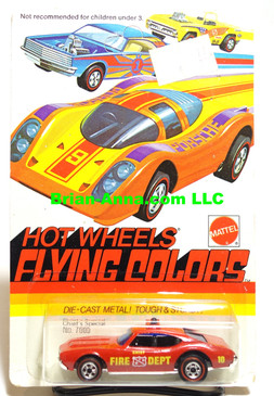 Hot Wheels Red Line Chief's Special on Flying Colors Card (ms3-554)