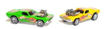 Hot Wheels Rodger Dodgers, loose mint, 2-cars