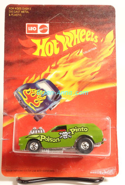 Hot Wheels Leo Mattel India Poison Pinto in Green on the Blister (MS3india-003)