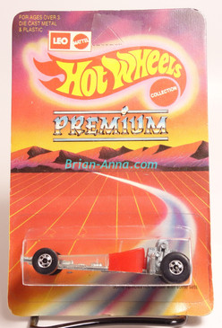 Hot Wheels Leo Mattel India Odd Rod, Red on Unpunched Blister (MS3india-146)