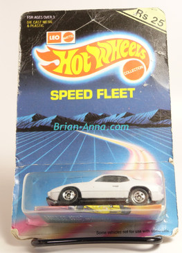 Hot Wheels Leo Mattel India Upfront 924 Porsche in White with Upfront tampo, Speed Fleet card,  Unpunched Blister (MS3india-153)