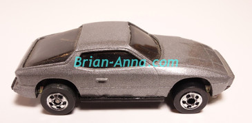 Hot Wheels Leo Mattel India Upfront 924 Porsche in Silver/Gray, LOOSE (MS3india-155)