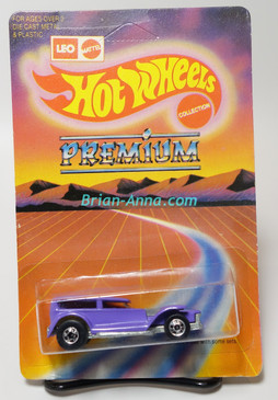 Hot Wheels Leo Mattel India Prowler in Purple, large Premium card, unpunched card (MS3india-611)