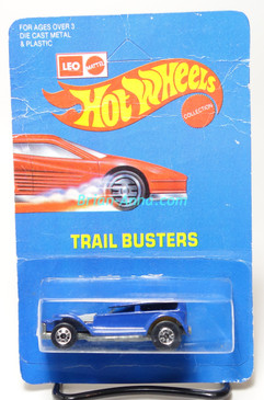 Hot Wheels Leo Mattel India Prowler in Blue, unpunched card (MS3india-613)