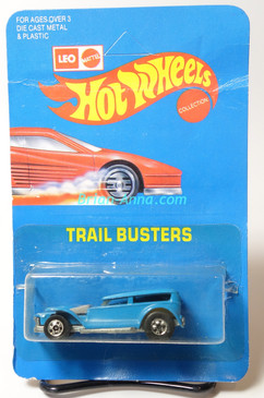 Hot Wheels Leo Mattel India Prowler in Light Blue, unpunched card (MS3india-614)