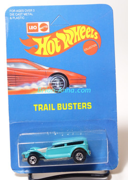 Hot Wheels Leo Mattel India Prowler/Demon in Very Light Blue, unpunched card (MS3india-616)
