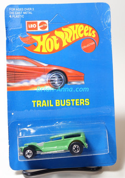 Hot Wheels Leo Mattel India Prowler/Demon in a Seafoam Green, unpunched card (MS3india-617)