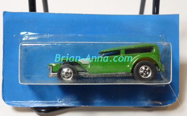 Hot Wheels Leo Mattel India Prowler/Demon in Green, cut card (MS3india-619)