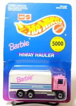 Hot Wheels Leo Mattel India Pink Barbie Hiway Hauler (MS3india-711)