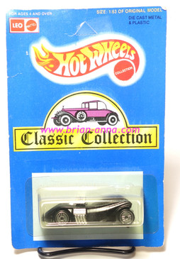 Hot Wheels Leo Mattel India, Twin Mill II in Black, unpunched card (MS3india-854)