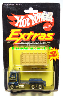Hot Wheels EXTRAS, featuring the Ford Stake Bed Sunset Trucking