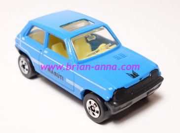 Hot Wheels Leo Mattel India, Maruti Suzuki Light Blue, LOOSE(MS3india-671)