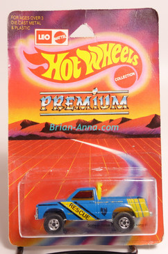 Hot Wheels Leo Mattel India, Path Beater, Blue with Rescue Tampo (MS3india-187)