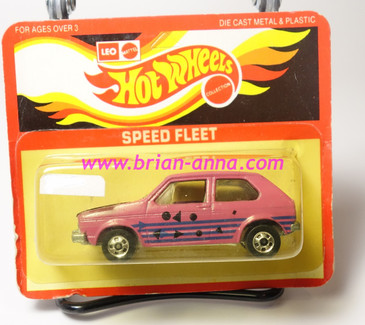 Hot Wheels Leo Mattel India, Hare Splitter in Pink (MS3india-678)