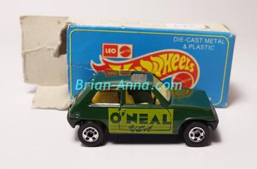 Hot Wheels Leo Mattel India, Dark Green Maruti with Box (MS3india-645)