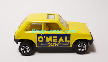 Hot Wheels Leo Mattel India, Bright Yellow Maruti, LOOSE (MS3india-653)