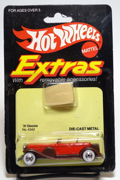 Hot Wheels Extras, '31 Doozie, non mint card  (ms3-603)
