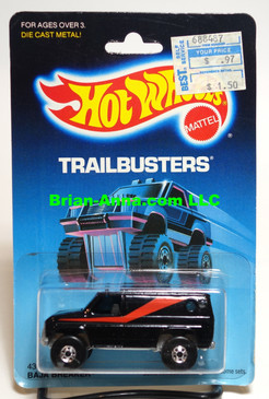 Hot Wheels Baja Breaker, Black, Blackwall whls, Malaysia, Mint on card