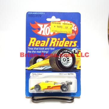 Hot Wheels Real Riders Turbo Streak, Gray Hubs, Malaysia base