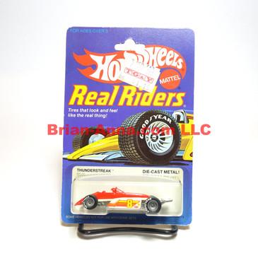 Hot Wheels Real Riders Thunderstreak, Gray Hubs, Malaysia base