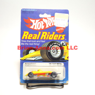 Hot Wheels Real Rider Formula Fever, Gray Hubs, Hong Kong base