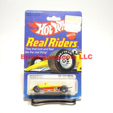 Hot Wheels Real Rider Formula Fever, Gray Hubs, Hong Kong base