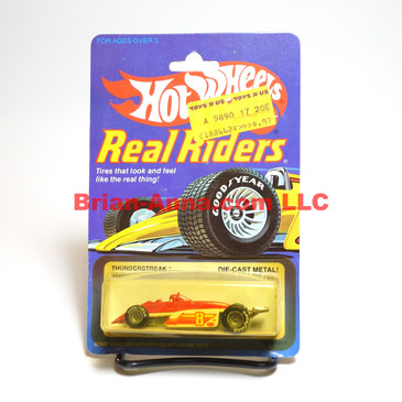 Hot Wheels Real Riders Thunderstreak, Gray Hubs, Malaysia base