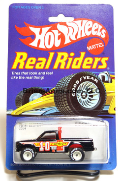 Hot Wheels Real Rider Chevy S-10 Path Beater, White Hubs, Malaysia base