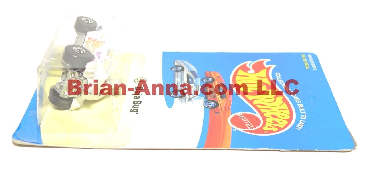 Hot Wheels Experimental Card, White Baja Bug, Blackwall, Malaysia base
