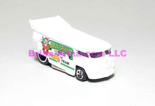 Hot Wheels Mattel Employee 1996 Christmas Bus, loose