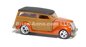 Hot Wheels Ultra Hot Series '37 Ford Woodie Dark Panels, LOOSE