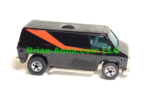 Hot Wheels Super Van from Dynamite Crossing Set, blackwalls, LOOSE