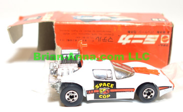 Hot Wheels Mattel Japan Box, Science Friction with blackwalls (ms3-702)