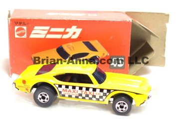 Hot Wheels Mattel Japan Box, Maxi Taxi,  blackwalls 1977