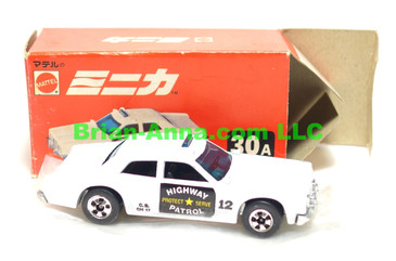 Hot Wheels Mattel Japan Box, Sheriff Patrol in white  with blackwalls