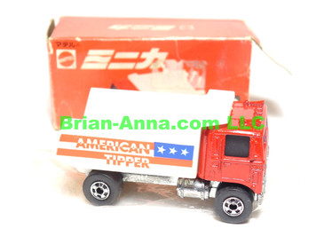 Hot Wheels Mattel Japan Box, American Tipper with blackwalls