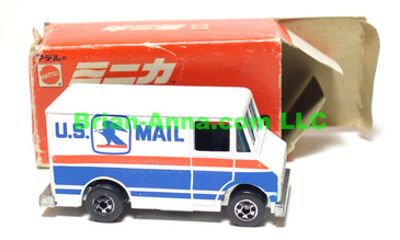 Hot Wheels Mattel Japan Box, Letter Getter with blackwalls