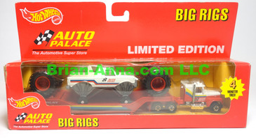 Hot Wheels Auto Palace Big Rigs in the box