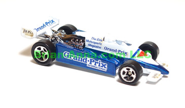 Hot Wheels Thunderstreak, Prototype Sample, Grand Prix International Magazine