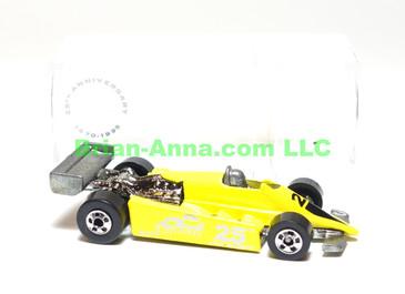 Hot Wheels Thunderstreak in Yellow, Road Atlanta 25th Anniversary Raceway Code 3