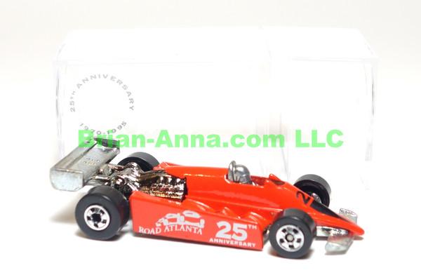 Hot Wheels Thunderstreak in Red, Road Atlanta 25th Anniversary Raceway Code 3