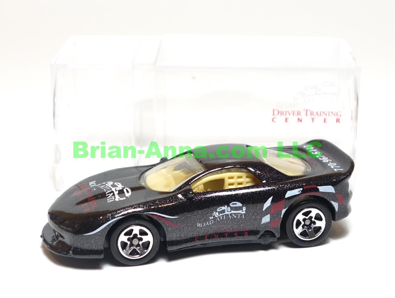 Hot Wheels 93 Camaro in Black, Road Atlanta Raceway Driver Training Center Code 3