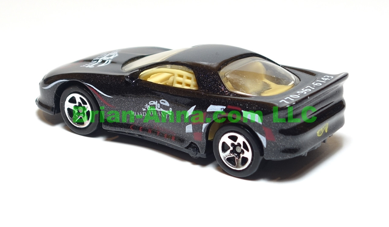 Hot Wheels 93 Camaro in Black, Road Atlanta Raceway Driver Training Center Code 3