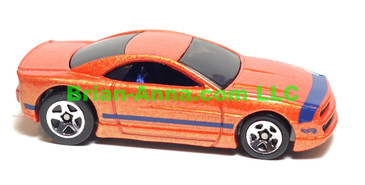 Hot Wheels Muscle Tone, Metalflake Orange, sp5 wheels, loose