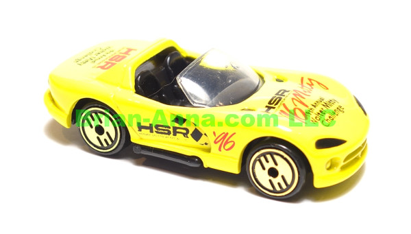 Hot Wheels Dodge Viper R/T 10 in Yellow, Walter Mitty Challenge Code 3