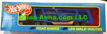 Hot Wheels Road Hawks Car Transport 1/43 Scale Trucks