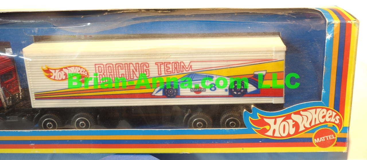 Hot Wheels Road Hawks Racing Team Martini Racing 1/43 Scale -Super Pkg