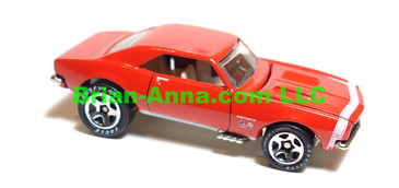 Hot Wheels 67 Camaro, Limited Edition Camaro Club, Red, sp5 wheels, China base, loose